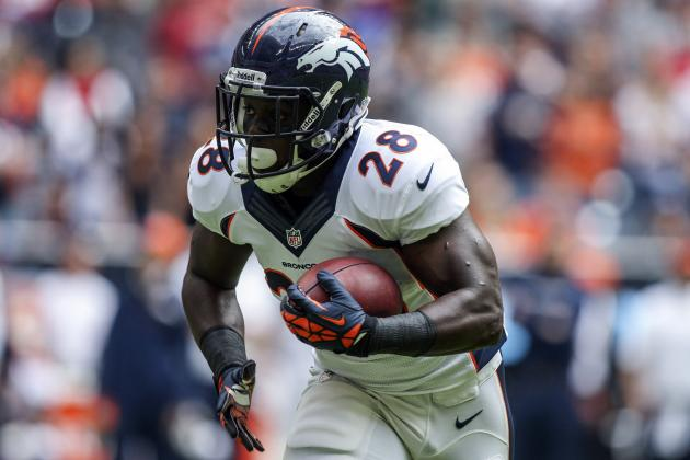 Montee Ball's Emergence Could Be Key for Broncos in AFC Championship Game