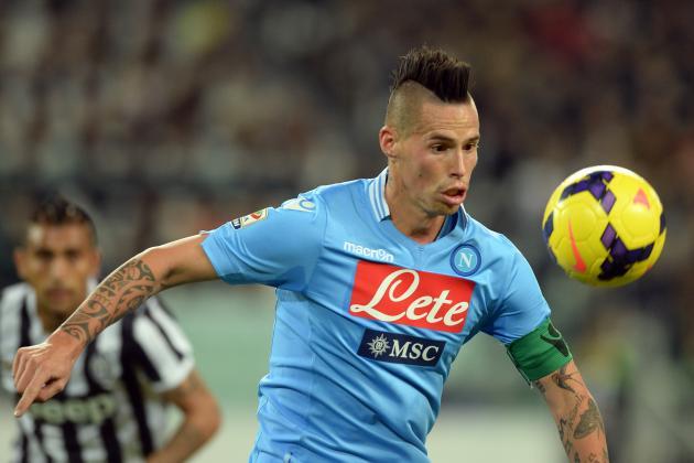 Manchester United Transfer News: Marek Hamsik Napoli Exit Unlikely