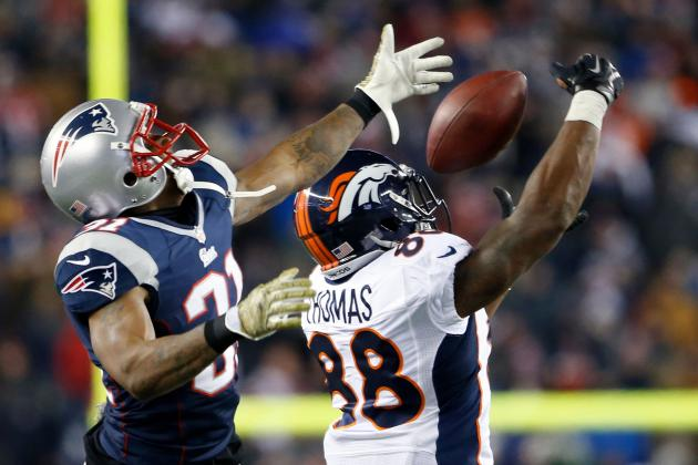Patriots Secondary Matches Up Well with Broncos Receiving Corps