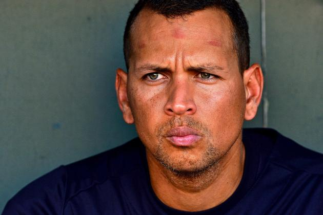 Alex Rodriguez Addresses Media for 1st Time Since Losing Biogenesis Appeal
