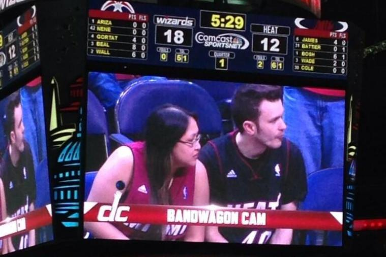 Wizards Latest Team to Unveil 'Bandwagon Cam' for Heat Fans