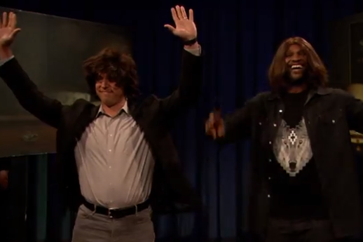 Watch: Tex and C.C. Show off Acting Chops on Fallon