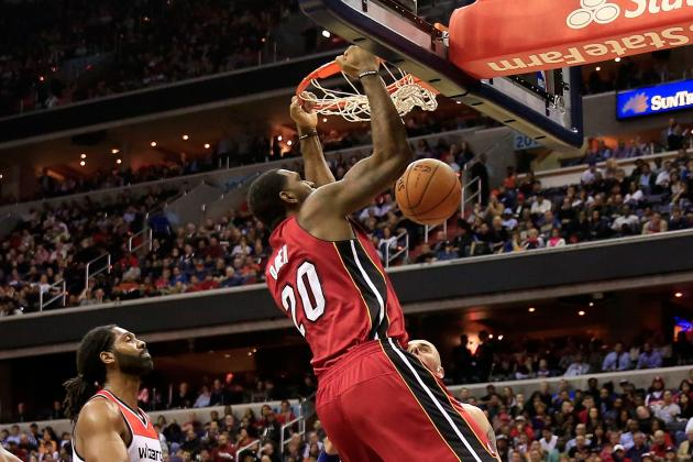 Greg Oden, Out Injured Since 2009, Dunks on First Possession with Miami Heat