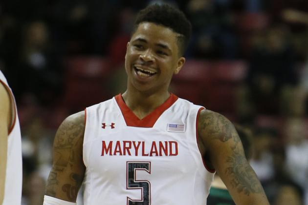 Postgame: Terps Exhale, Smile After Much-Needed Win over Notre Dame