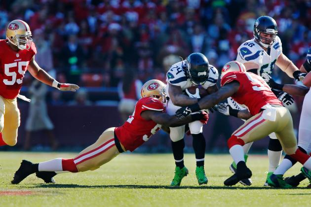49ers vs. Seahawks: Marshawn Lynch vs. San Francisco LBs Will Decide NFC Title
