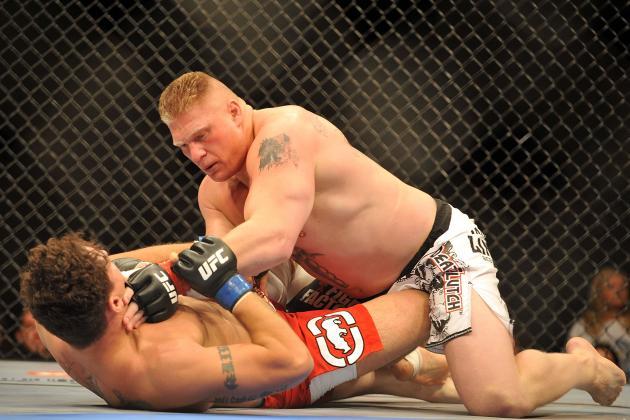 Dana White: Ex-UFC Champ Brock Lesnar's Return 'Definitely a Possibility'
