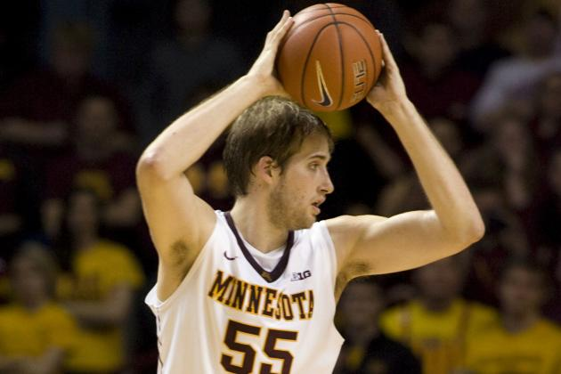 Pitino Makes Elliott Eliason the Gophers Fourth Captain
