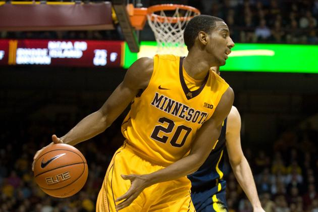 Austin Hollins Is Running, but Not Gunning, for Gophers Basketball