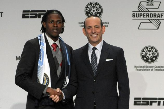 New England Revolution and Philadelphia Union Shake Up 2014 MLS SuperDraft