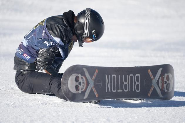 Shaun White Crashes in Olympic Slopestyle Qualifier