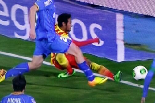Barcelona's Neymar Injured Against Getafe in Copa Del Rey