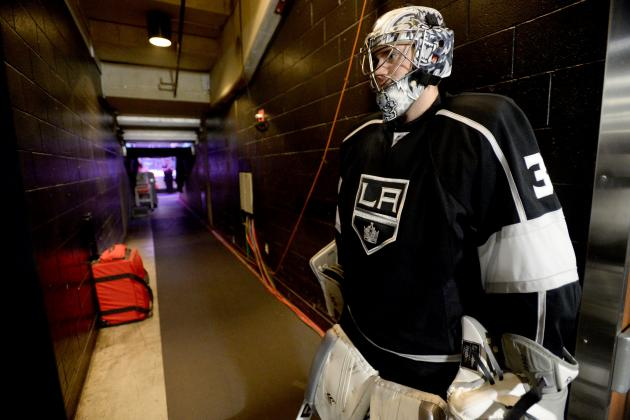 Kings' Jones Hoping for Permanent NHL Job