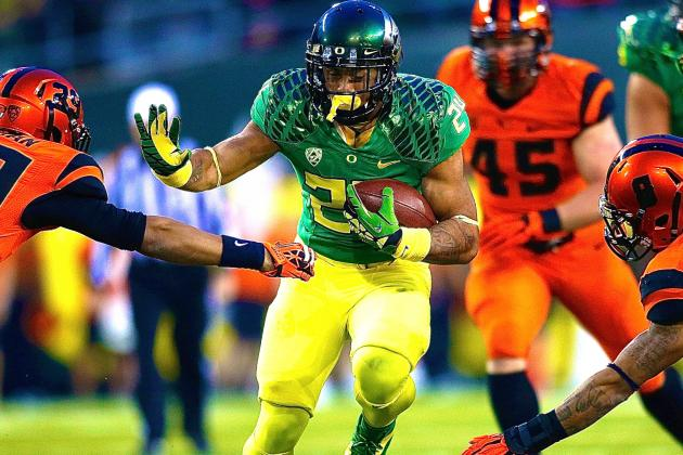 Why Oregon Ducks' Offense Will Be Better with Thomas Tyner Leading the Charge