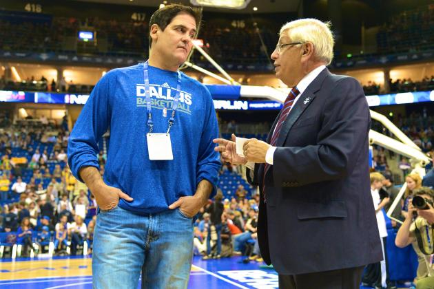 Mark Cuban Wants 'One Final Fine' from Commissioner David Stern