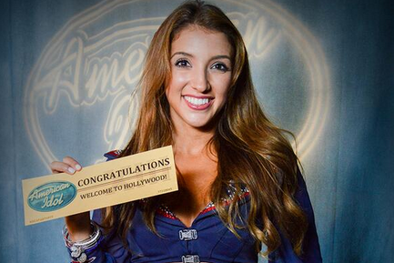 Patriots Cheerleader Advances on 'American Idol'