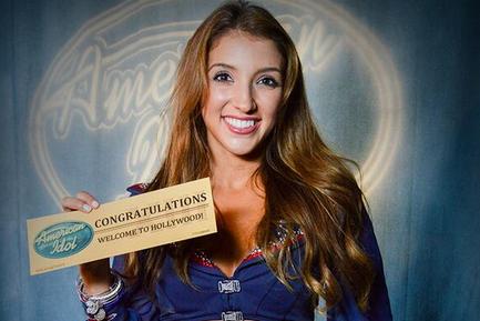 Patriots Cheerleader Advances on 'American Idol'