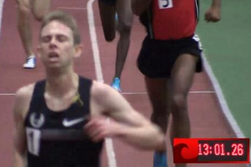 Rupp Shatters American Indoor 5K Record