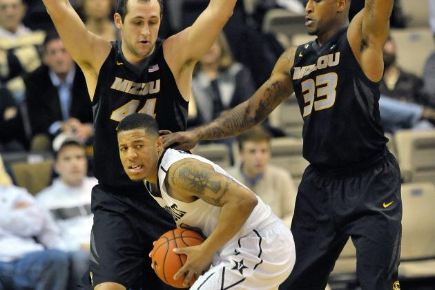 Three-Point Shooting Proves Costly in Missouri's Loss at Vanderbilt