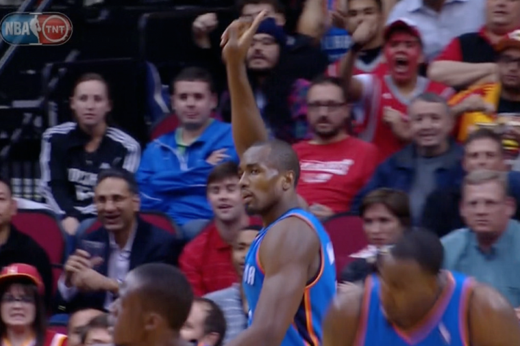Serge Ibaka Turns into Dikembe Mutombo Against Dwight Howard