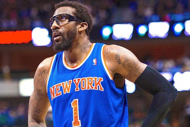 Amar'e Stoudemire Injury: Updates on Knicks PF's Ankle and Return