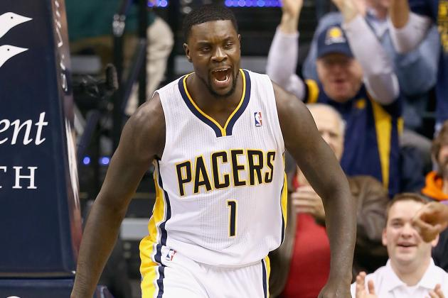Lance Stephenson Charges for Career High in Pacers Blowout over Knicks