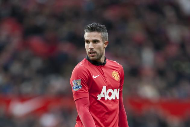 Robin van Persie Shows His Full Support for David Moyes at Manchester United