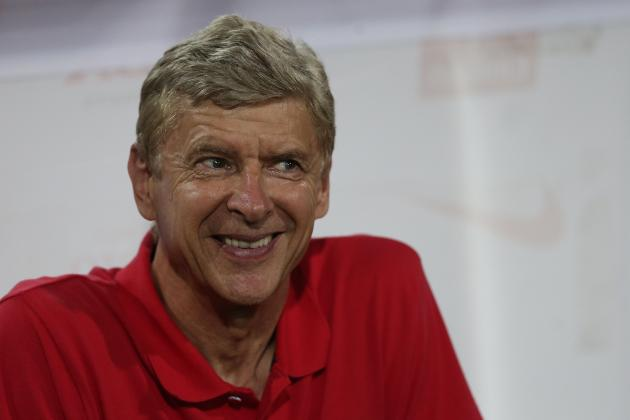 Arsenal Transfer News: Julian Draxler, Bacary Sagna Updates from Arsene Wenger