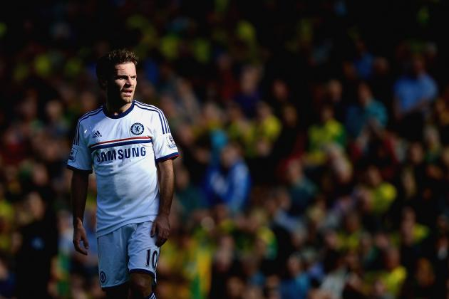 Chelsea Supporters Have Little to Fear over Juan Mata Transfer Rumours