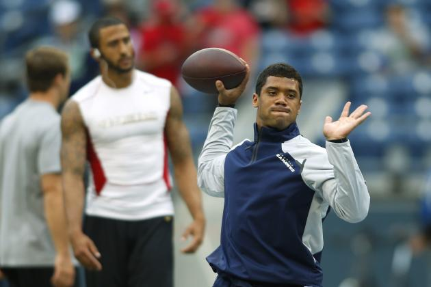 Colin Kaepernick vs. Russell Wilson: Tale of the Tape for NFC Championship Game
