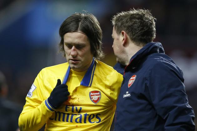 Once Brittle Tomas Rosicky Underlines Arsenal's Growing Resolve
