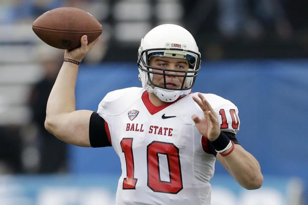 Keith Wenning Out to Prove Himself During Shrine Game Practices...and Beyond