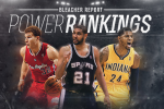 Updated NBA Power Rankings at Halfway Point