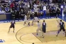 Video: Josh Pastner Plays Defense on Sideline