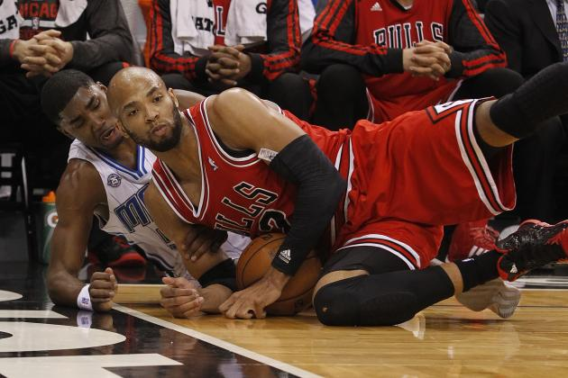 Taj Gibson Says Chicago Bulls Feel Like They're in 'Major League' Movie