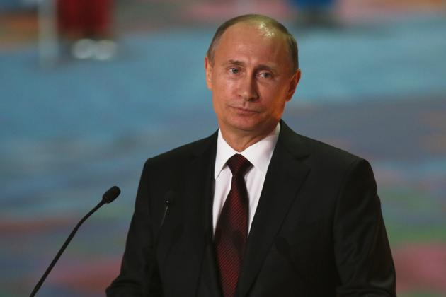 Vladimir Putin Warns Gay Athletes of Russian Laws Before Sochi Olympics