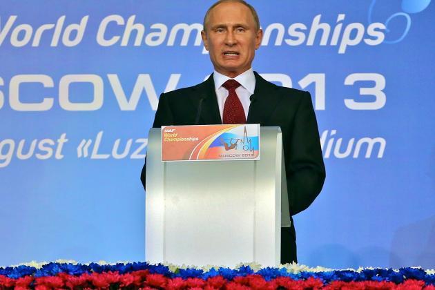 Vladimir Putin Warns Gay Athletes of Russian Laws Before Sochi Olympics