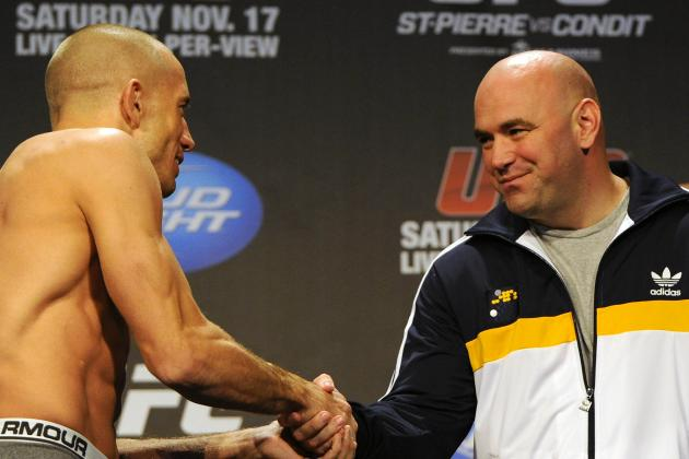 Dana White's Defense Against Georges St-Pierre Doing More Harm Than Good