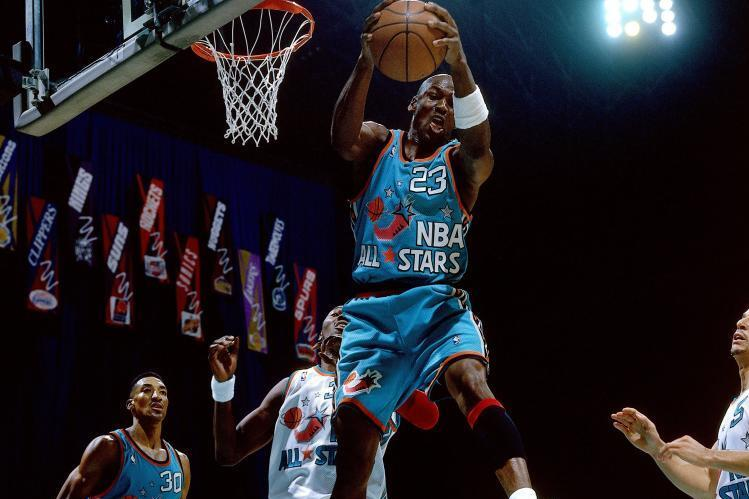 Looking Back at the History of NBA All-Star Uniforms