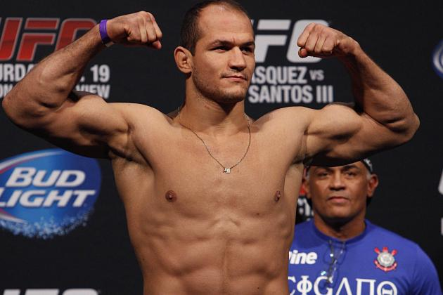Coach: Junior Dos Santos Targeting May or June Return to the UFC