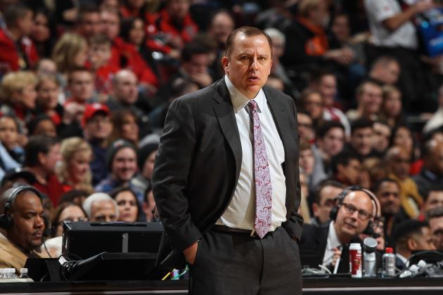 Bulls Coach Tom Thibodeau: 'I'm Trying to Be Like Phil Jackson'