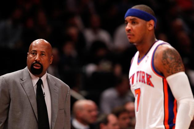 Out of Choices, Mike Woodson Must Switch Carmelo Anthony Back to Power Forward