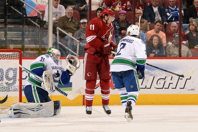 NHL Fines Coyotes' Hanzal for High-Sticking Booth