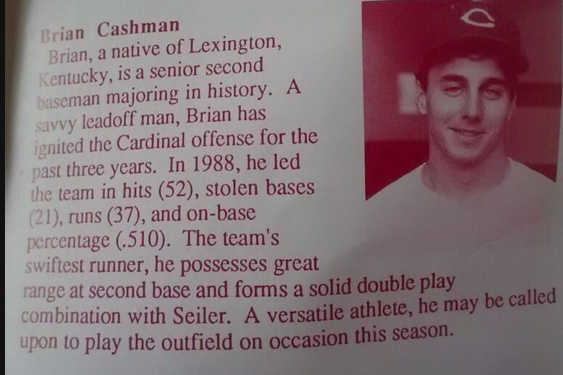 Ever Wanted to See Cashman's College Photo, Bio?