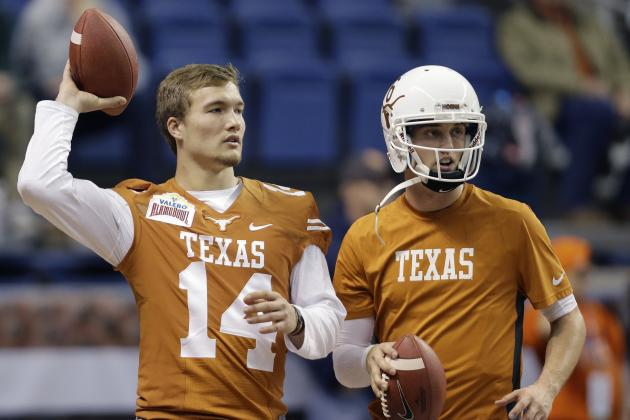 Texas Football: What's Going on with David Ash?