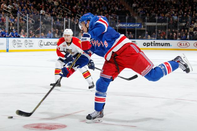 New York Rangers' Derek Stepan Not Having Olympic-Caliber Season