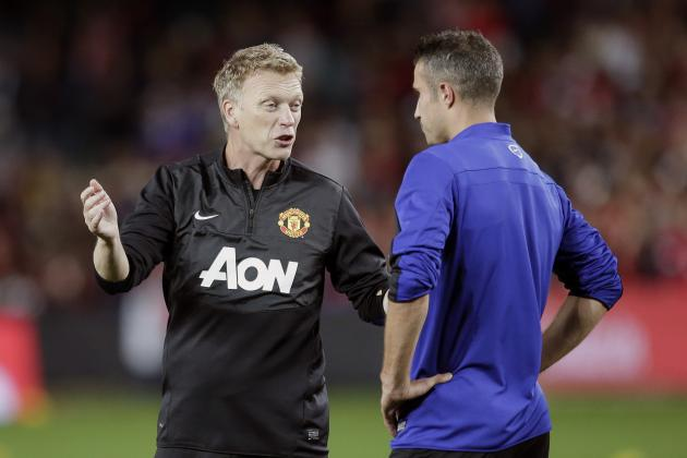 Robin van Persie's Show of Support Is a Welcome Boost for David Moyes
