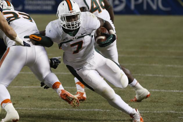 Miami Football: Why the 'Canes Might Face Problems at Running Back in 2014