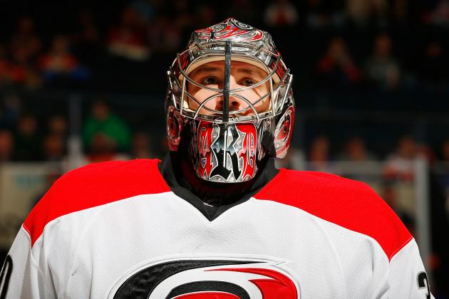 How Much Trade Value Does Carolina Hurricanes Goalie Cam Ward Have?