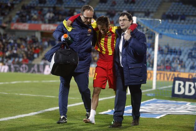 Neymar's Ankle Injury Will Not Slow Down Barcelona