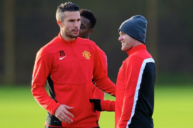 Wayne Rooney and Robin van Persie Ruled Out of Chelsea vs. Manchester United